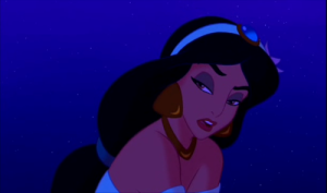 Jasmine's getting pretty tired of your shit, Aladdin.